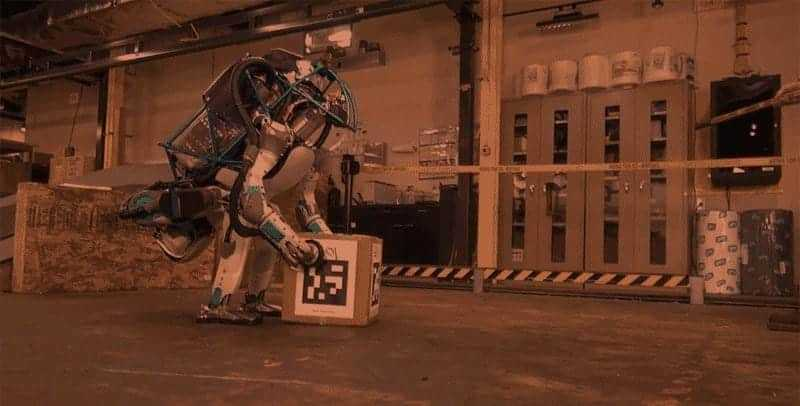 Watch the Atlas Robot Get Bullied By A Mean Human